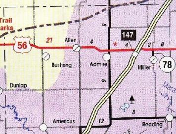 admire map 1